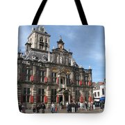 City Hall - Delft - Netherlands Tote Bag