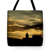 City Hall In Relief Tote Bag