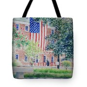 City Hall Old Town Alexandria Virginia Tote Bag