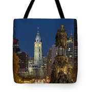 City Hall Philadelphia Tote Bag