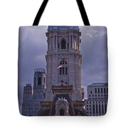 City Hall Philly Tote Bag