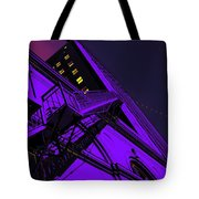 City Hall Stairs, In Indigo Tote Bag