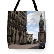 City Hall View From South Tote Bag