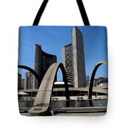 City Halll Arches Tote Bag