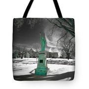 City High Statue Tote Bag