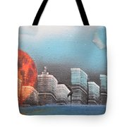 City In The Day. Tote Bag