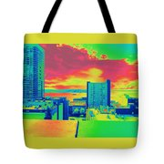 City Legos Tote Bag