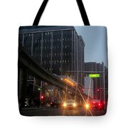 City Life Swarms Tote Bag