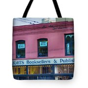 City Lights Booksellers Tote Bag
