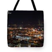 City Lights Over Bham, Al Tote Bag
