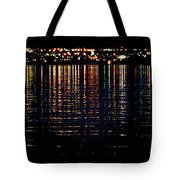City Lights Upon The Water 1 Tote Bag