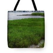 City Marina Marsh View Tote Bag