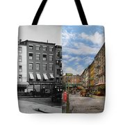 City - New York Ny - Fraunce's Tavern 1890 - Side By Side Tote Bag