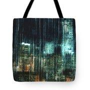 City Night Lights Tote Bag