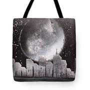 City Night Scape Tote Bag