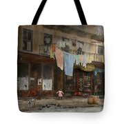 City - Ny - Elegant Apartments - 1912 Tote Bag
