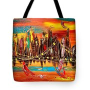 City Ny Tote Bag