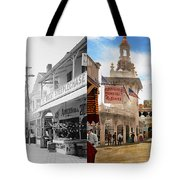 City - Ny - The Great Steeplechase 1903 - Side By Side Tote Bag