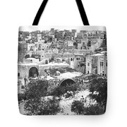 City Of David Bethlehem Tote Bag by Munir Alawi
