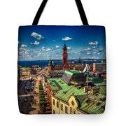 City Of Helsingborg Tote Bag