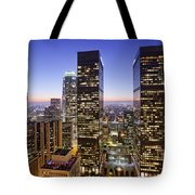 City Of Lights Tote Bag by Kelley King