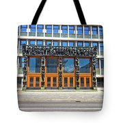 City Of Ljubljana Parliament Building View Tote Bag