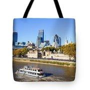 City Of London 12 Tote Bag