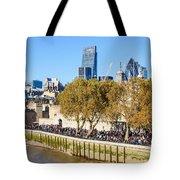 City Of London 14 Tote Bag