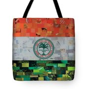 City Of Miami Flag Tote Bag