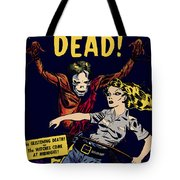 City Of The Living Dead Comic Book Poster Tote Bag