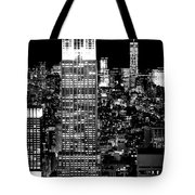 City Of The Night Tote Bag