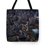City Of Toronto Downtown After Sunset Tote Bag