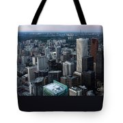 City Of Toronto Downtown Tote Bag