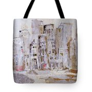 City On The River  Tote Bag