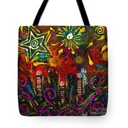 City On The Rocks Tote Bag