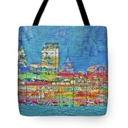 City On The Water Tote Bag