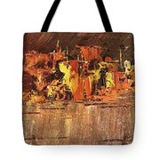 City On Water Tote Bag