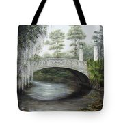City Park Bridge Tote Bag