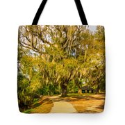 City Park New Orleans - Paint Tote Bag
