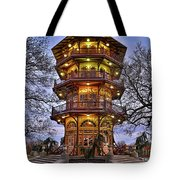 City Park Pagoda Tote Bag