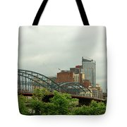 City - Pittsburgh Pa - The Grand City Of Pittsburg Tote Bag
