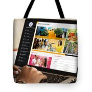 City Pulse - Dynamic And Resonsive Website Design Tote Bag