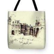 City Rendering Tote Bag