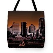 City Sailin 2 Tote Bag