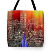 City Sailin Tote Bag