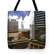 City Skies Tote Bag