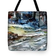 City Snow Melts Tote Bag