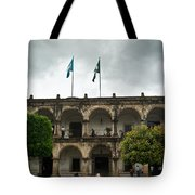 City Square Antigua Guatemala Tote Bag