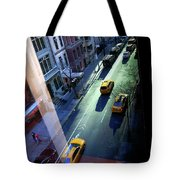 City Street Aerial New York Tote Bag