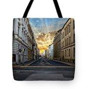 City Street View Tote Bag